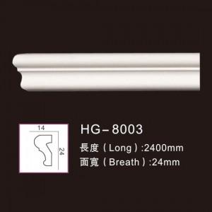 Super Lowest Price Wood Ceilling Cornice Moulding - Plain  Mouldings-HG-8003 – HUAGE DECORATIVE