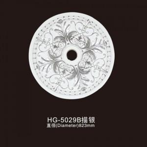 Ceiling Mouldings-HG-5029B outline in silver