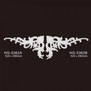 Veneer Accesories-PU Decorative Ornaments-HG-5362