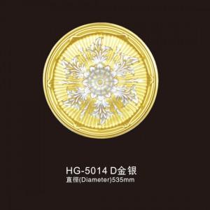 Ceiling Mouldings-HG-5014D Gold silver