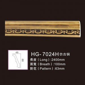 8 Year Exporter Indoor Electric Fireplace - Effect Of Line Plate1-HG-7024H Antique Copper – HUAGE DECORATIVE