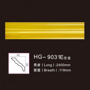 Effect Of Line Plate-HG-9031E full gold