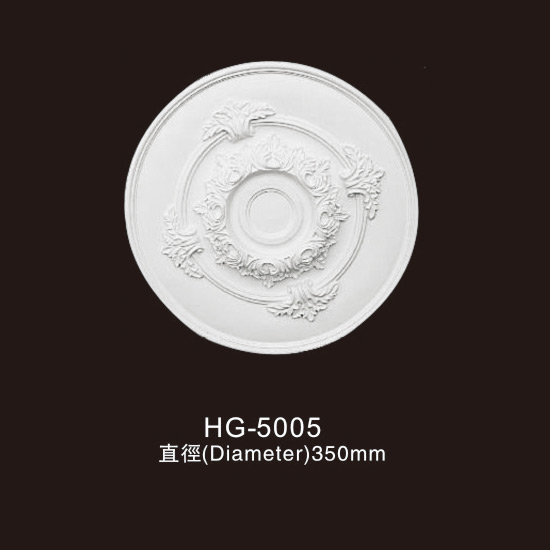 professional factory for Pu Moulding Polyurethane Moulding - Ceiling Mouldings-HG-5005 – HUAGE DECORATIVE