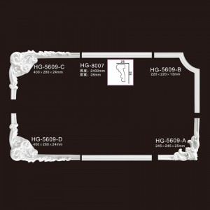 Elegant Corner & Frames-HG-5609