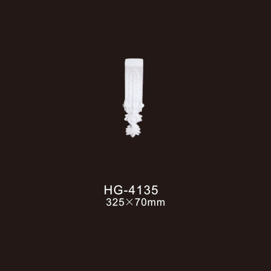 Fast delivery Granite Hollow Column - Beautiful Lamp Plate-HG-4135 – HUAGE DECORATIVE