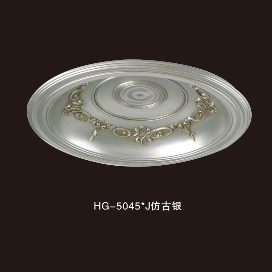Chinese wholesale Polystyrene Crown Moulding West Asia - Ceiling Mouldings-HG-5045J Antique silver – HUAGE DECORATIVE