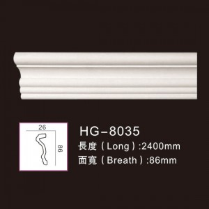 100% Original China Marble Fireplace - Plain Mouldings-HG-8035 – HUAGE DECORATIVE