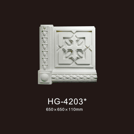 Good quality Pu Crown Cornices Moulding - PU-HG-4203 – HUAGE DECORATIVE