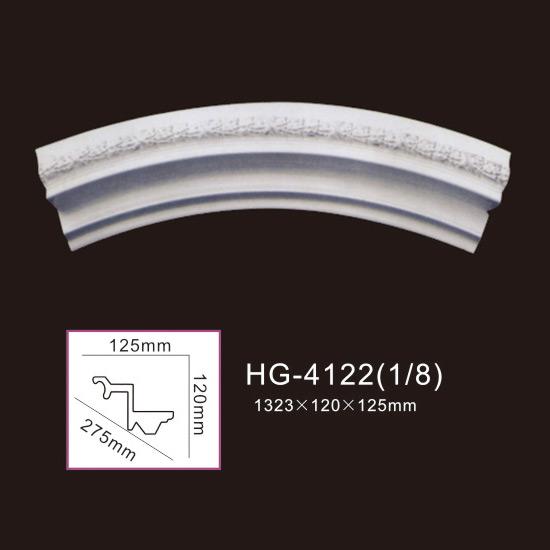 Wholesale Discount Decor Polyurethane Cornice Moulding - Beautiful Lamp Plate-HG-4122 – HUAGE DECORATIVE