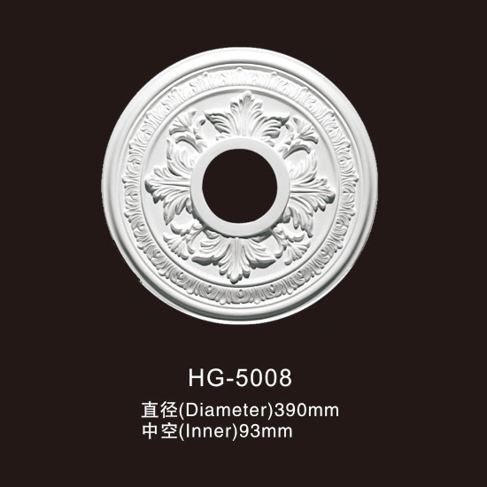 Best-Selling Colored Gypsum Ceiling Crown Moulding - Ceiling Mouldings-HG-5008 – HUAGE DECORATIVE