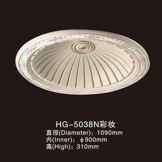 Factory source Cornice Moulding Eps Polyurethane Making - Ceiling Mouldings-HG-5038N color – HUAGE DECORATIVE