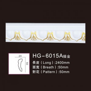 Effect Of Line Plate-HG-6015A outline in gold