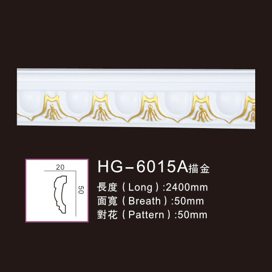 Effect Of Line Plate-HG-6015A outline in gold Featured Image