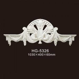 Discount Price Polyurethane Gypsum Cornice Mould Making - Veneer Accesories-HG-5326 – HUAGE DECORATIVE