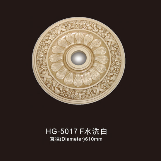 Massive Selection for White Column Modern Design - Ceiling Mouldings-HG-5017F water white – HUAGE DECORATIVE