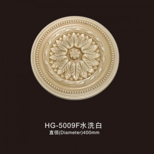 Ceiling Mouldings-HG-5009F water white