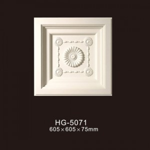 China Factory for PU Exotic Corbel - Ceiling Mouldings-HG-5071 – HUAGE DECORATIVE