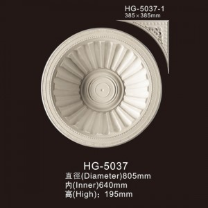 Cheap PriceList for Polystyrene Cornice - Ceiling Mouldings-HG-5037 – HUAGE DECORATIVE