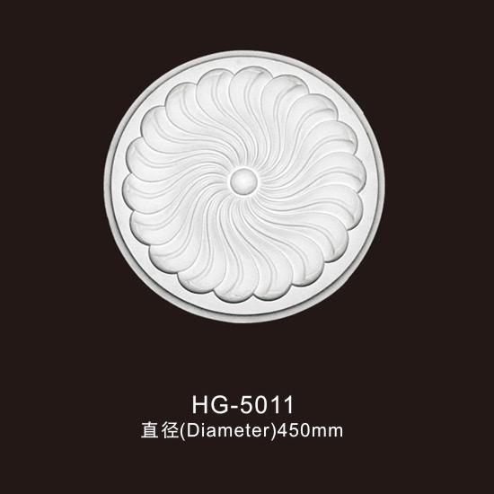 2019 New Style Various Types Of Veneer - Ceiling Mouldings-HG-5011 – HUAGE DECORATIVE