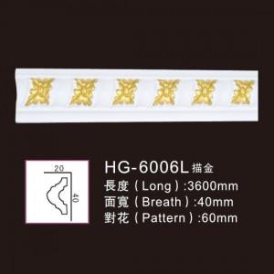 3.6M Long Lines-HG-6006L outline in gold