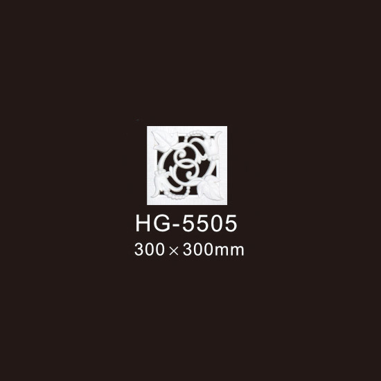 Factory Supply Panel Molding - Center Hollow Mouldings-HG-5505 – HUAGE DECORATIVE