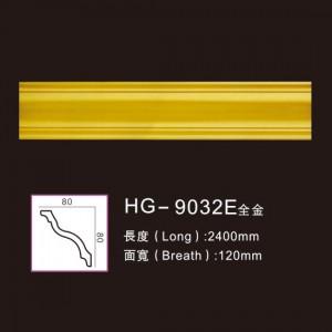 Effect Of Line Plate-HG-9032E full gold
