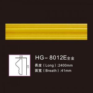 Effect Of Line Plate-HG-8012E full gold