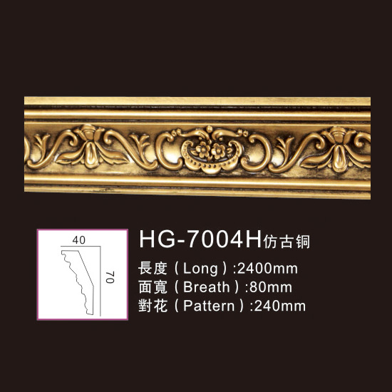 Discount wholesale Fireplace Decoration - Effect Of Line Plate1-HG-7004H Antique Copper – HUAGE DECORATIVE Featured Image