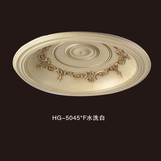 Top Quality Decorative Crown Moulding - Ceiling Mouldings-HG-5045F water white – HUAGE DECORATIVE
