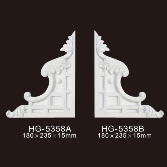 Good quality Pine Lvl Veneers - Veneer Accesories-HG-5358 – HUAGE DECORATIVE